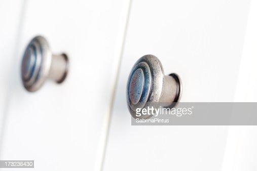doorknob on white