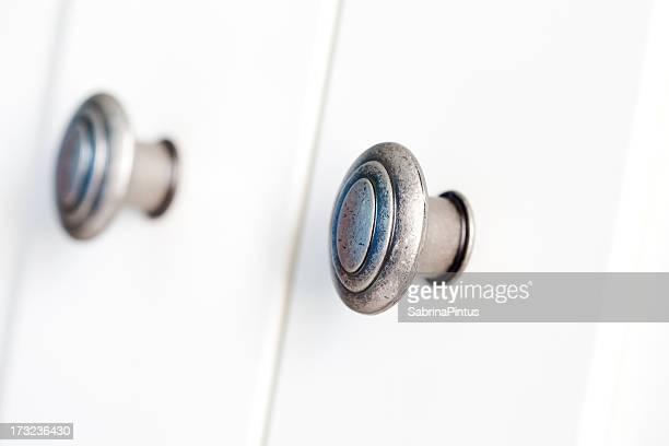 Maçaneta de porta em branco