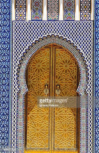 Doorway architectural detail.