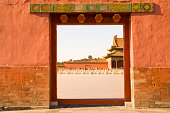 Doorway in Forbidden City