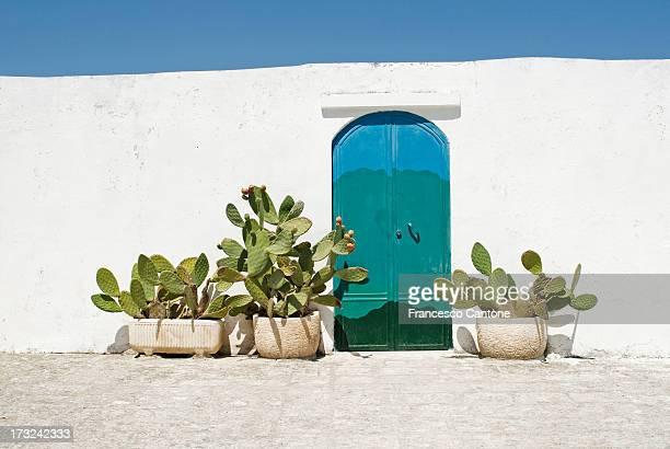 Doorway in Ostuni, Puglia Italy
