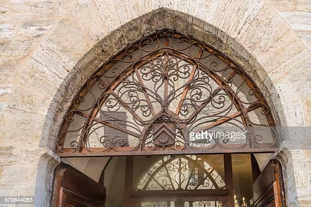 Doorway, San Gimignano, Italy