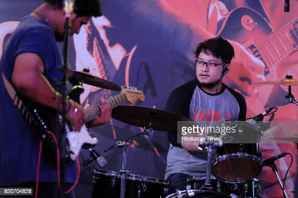 Dor band performs at Friday Jam season4 organised by Hindustan Times at CyberHub on July 21 2017 in Gurgaon India