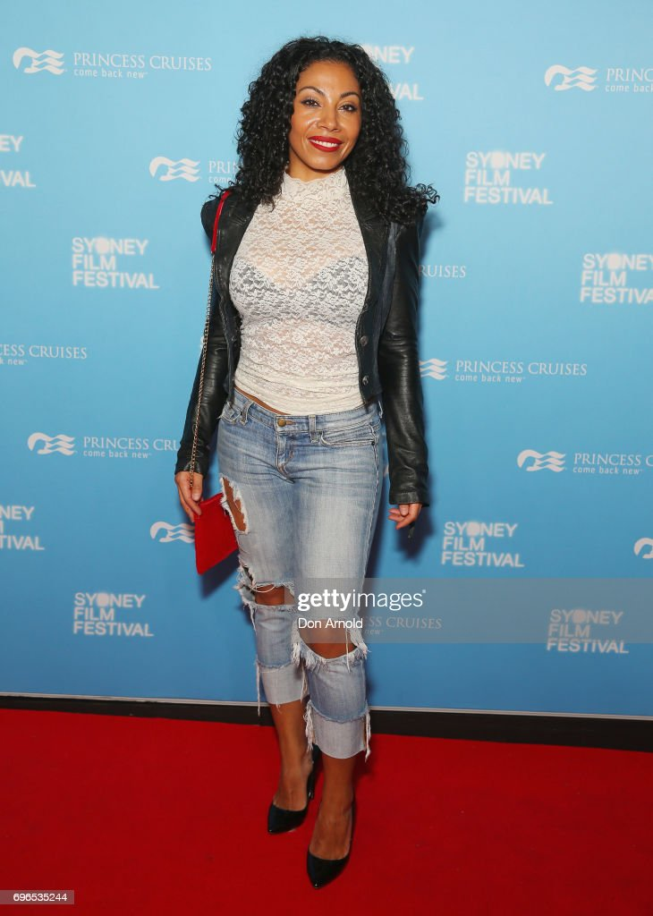 Dora Gutierez arrives ahead of the Patti Cake$ Australian Premiere during the Sydney Film Festival at State Theatre on June 16, 2017 in Sydney, Australia.