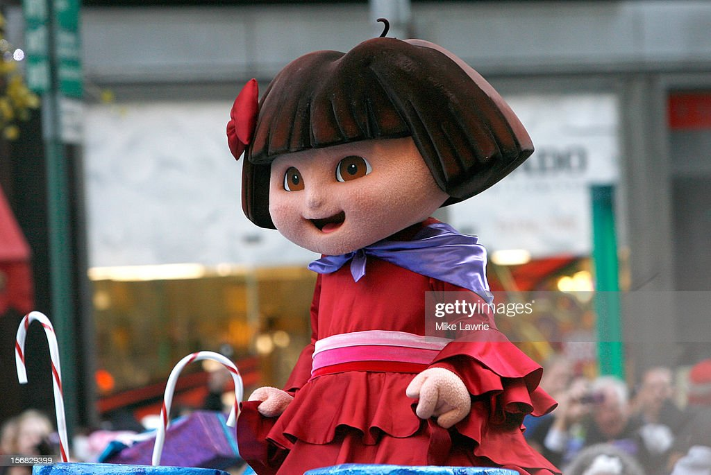 Dora the Explorer ride her float during the 86th Annual Macy's Thanksgiving Day Parade on November 22, 2012 in New York City.