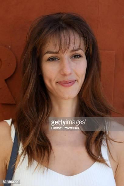 Dora Tillier is spotted at Roland Garros on June 10 2017 in Paris France