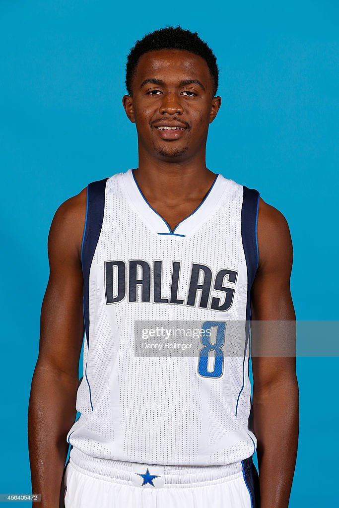 Doran Lamb #8 of the Dallas Mavericks poses for a photo during the Dallas Mavericks 2014-2015 Media Day on September 29, 2014 at the American Airlines Center in Dallas, Texas.