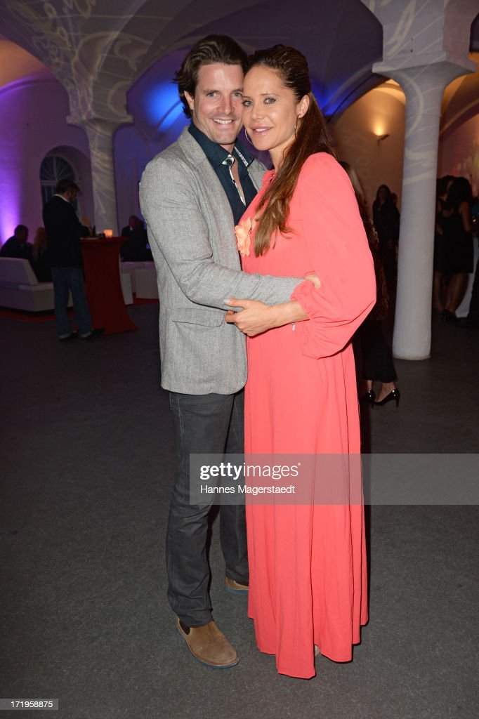 Doreen Dietel and her boyfriend Tobias Guttenberg attend the Audi Director's Cut during the Munich Film Festival 2013 on June 29, 2013 in Munich, Germany.