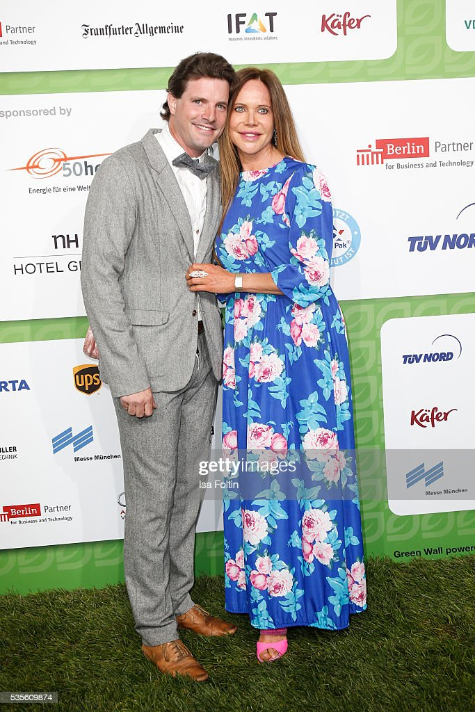 <a gi-track='captionPersonalityLinkClicked' href=/galleries/search?phrase=Doreen+Dietel&family=editorial&specificpeople=2528096 ng-click='$event.stopPropagation()'>Doreen Dietel</a> and her boyfriend Tobias Guttenberg attends the Green Tec Award at ICM Munich on May 29, 2016 in Munich, Germany.