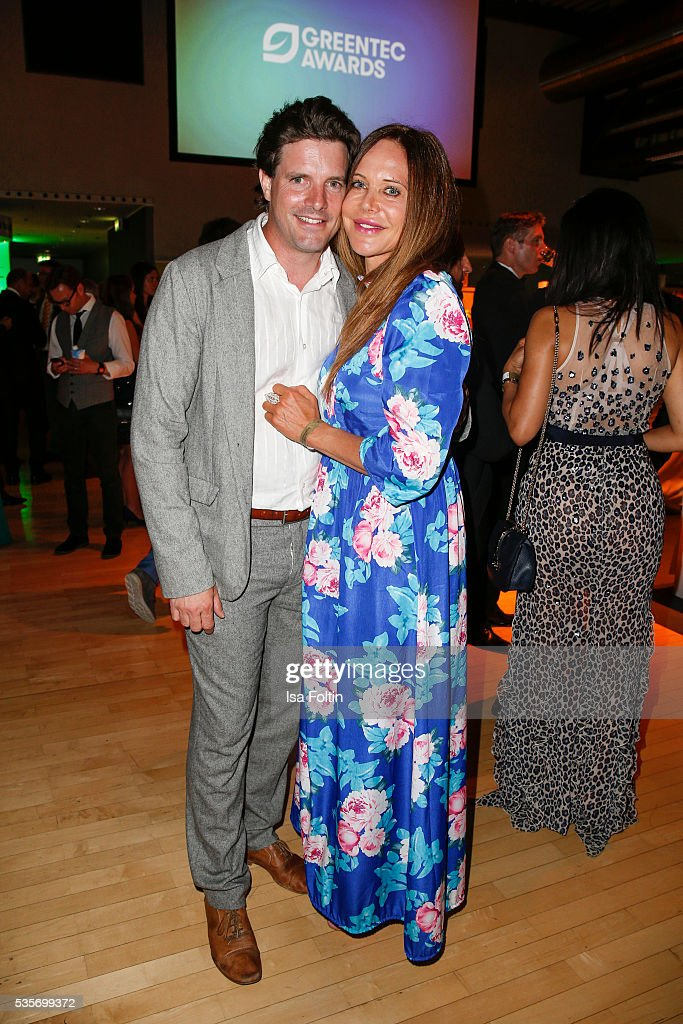 <a gi-track='captionPersonalityLinkClicked' href=/galleries/search?phrase=Doreen+Dietel&family=editorial&specificpeople=2528096 ng-click='$event.stopPropagation()'>Doreen Dietel</a> and her boyfriend Tobias Guttenberg during the Green Tec Award After Show Party at ICM Munich on May 29, 2016 in Munich, Germany.