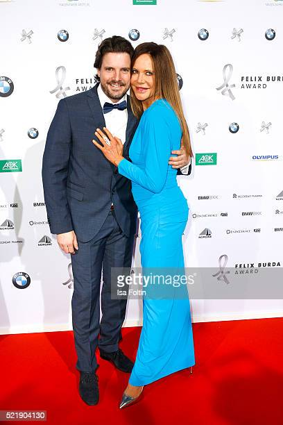 Doreen Dietel and Tobias Guttenberg attend the Felix Burda Award 2016 on April 17 2016 in Munich Germany
