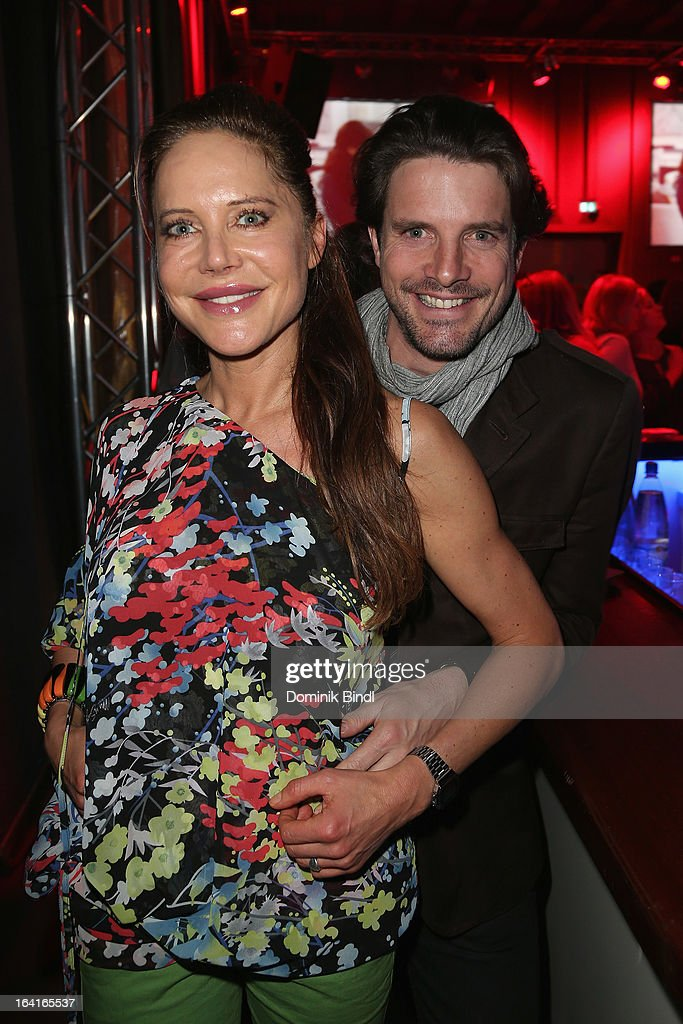 Doreen Dietel and Tobias Guttenberg attend the Ndf Afterwork Party at 8 Seasons on March 20, 2013 in Munich, Germany.