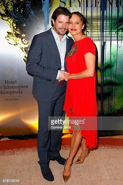 Doreen Dietel and Tobias Guttenberg during the Genlemen Style Night at Hotel Vier Jahreszeiten on May 13 2015 in Munich Germany