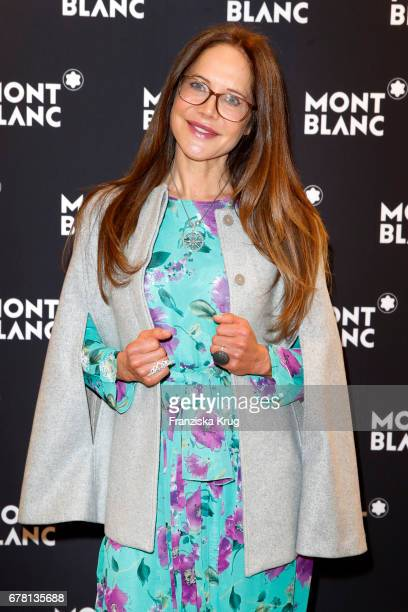 Doreen Dietel attends the Montblanc spring party on May 3 2017 in Munich Germany