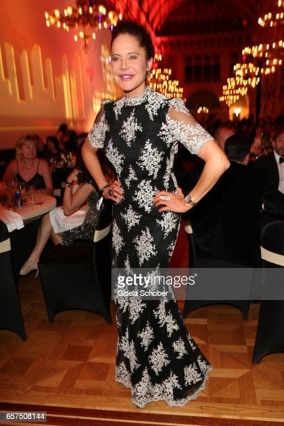 Doreen Dietel during the 8th Filmball Vienna at City Hall on March 24 2017 in Vienna Austria