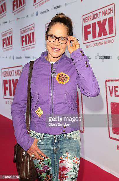Doreen Dietel during the premiere of the film 'Verrueckt nach Fixi' at Mathaeser Kino on October 9 2016 in Munich Germany