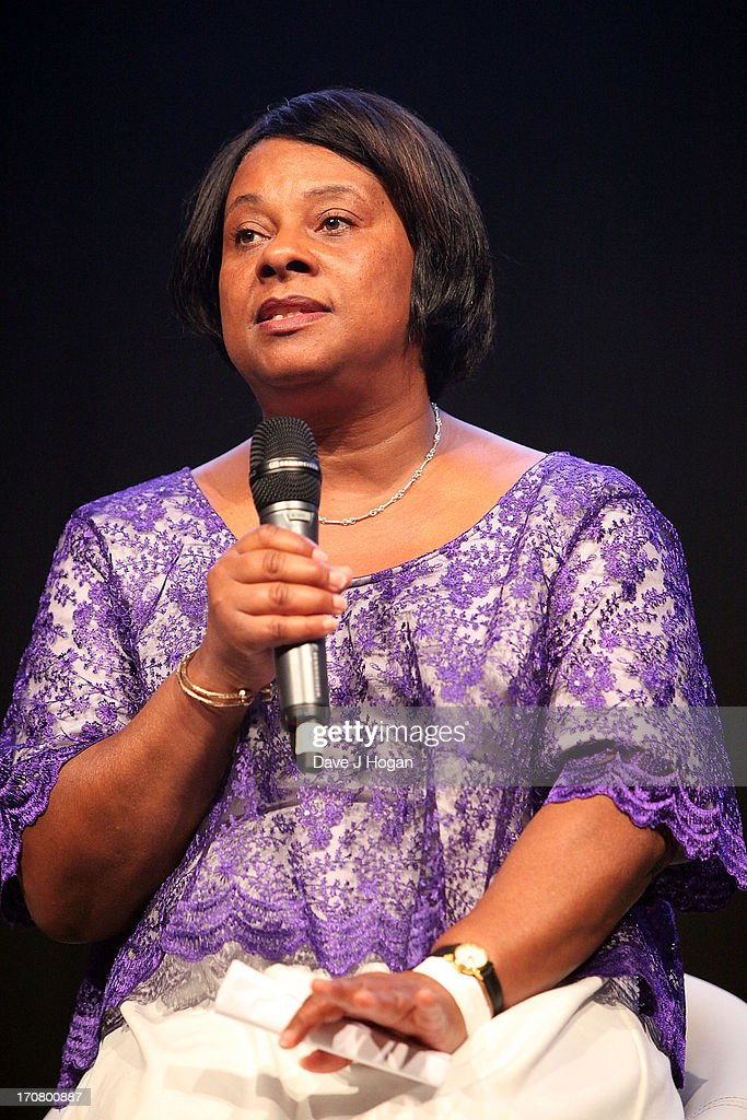 Doreen Lawrence attends a press conference and photocall to accounce 'Unity - A Concert for Stephen Lawrence' at Abbey Road Studios on June 18, 2013 in London, England.