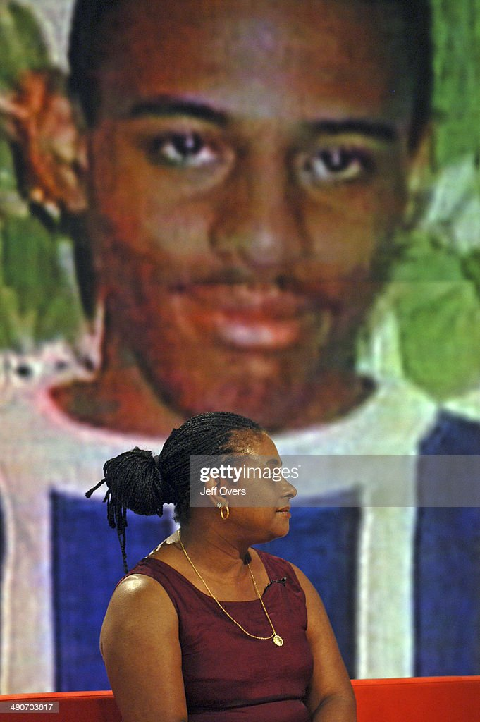 Doreen Lawrence, mother of murdered teenager <a gi-track='captionPersonalityLinkClicked' href=/galleries/search?phrase=Stephen+Lawrence&family=editorial&specificpeople=2276544 ng-click='$event.stopPropagation()'>Stephen Lawrence</a>, appearing on the BBC morning news programme Breakfast, .