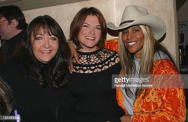 Doreen Ringer Ross Rosanne Cash and Rana Joy Glickman