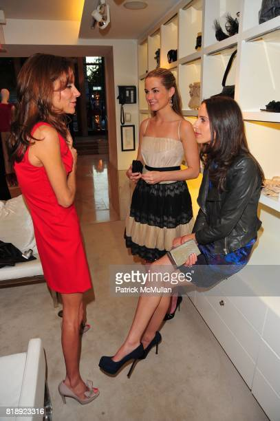 Dori Cooperman Amanda Hearst and Dalia Oberlander attend VALENTINO hosts Carlos Mota book launch 'Flowers Chic and Cheap' at Valentino on May 4 2010...