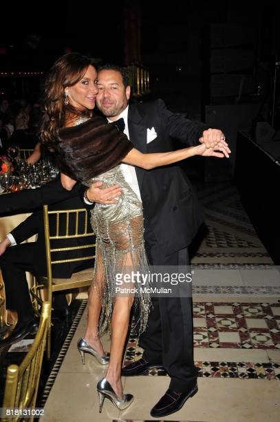 Dori Cooperman and Alvin Valley attend Silver Hill Hospital 80th Anniversary Gala at Cipriani 42nd Street on November 11 2010 in New York City