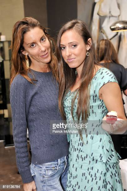 Dori Cooperman and Jenna Leigh attend Silver Spoon Presents Oscar Weekend Red Cross Event For Haiti Relief at Interior Illusions on March 3 2010 in...