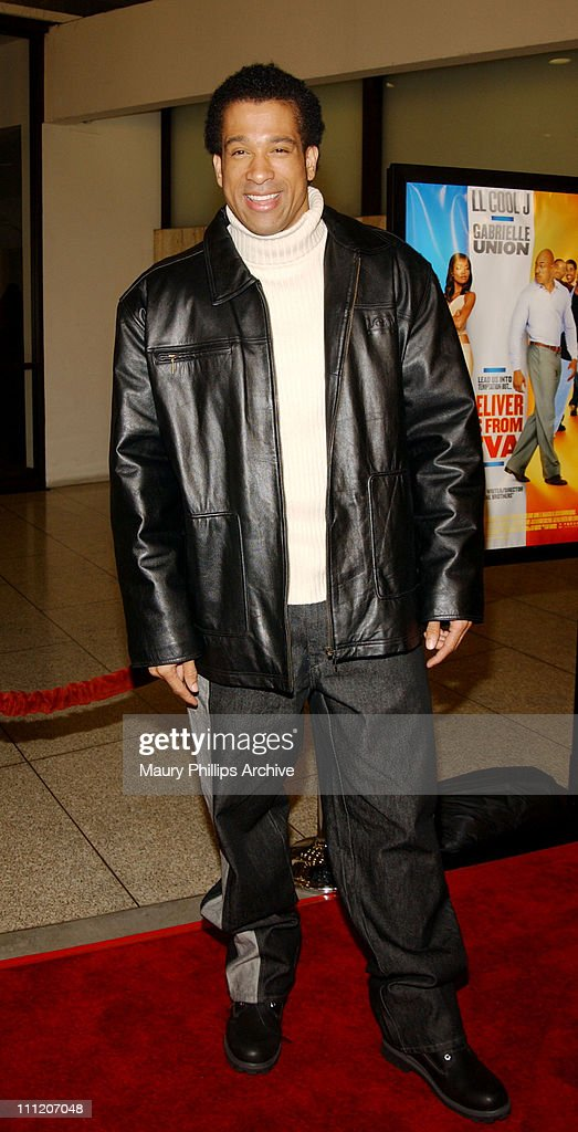 Dorian Gregory during 'Deliver Us From Eva' Premiere at Cinerama Dome in Los Angeles, California, United States.
