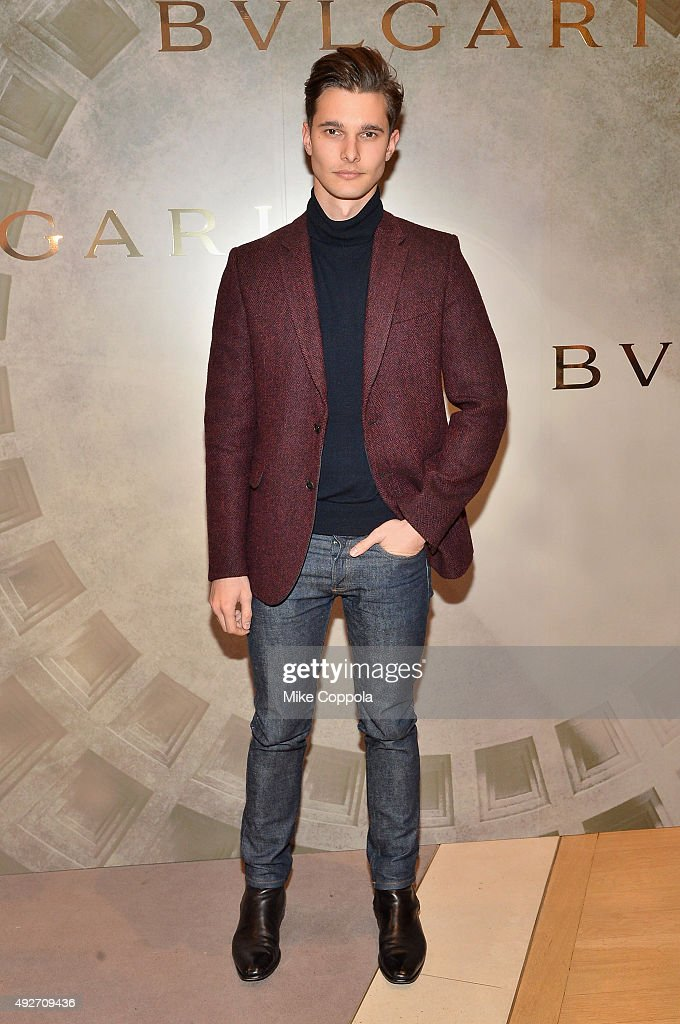 Dorian Grinspan attends the BVLGARI &