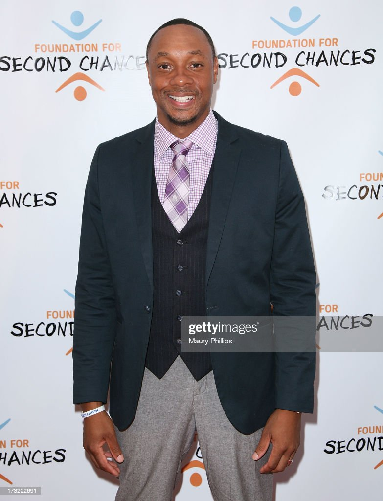 <a gi-track='captionPersonalityLinkClicked' href=/galleries/search?phrase=Dorian+Missick&family=editorial&specificpeople=678688 ng-click='$event.stopPropagation()'>Dorian Missick</a> arrives at Foundation For Second Chances 'Harlem Nights' Casino event at Huntley Hotel on July 9, 2013 in Santa Monica, California.