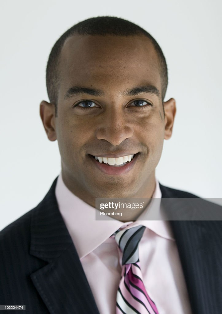 Dorian Warren, an assistant professor of political science at Columbia University, stands for a portrait before an interview in New York, U.S., on Monday, Aug. 2, 2010. Warren said Wal-Mart has been persistent in seeking approval to open a third store in Chicago. Photographer: Jonathan Fickies/Bloomberg via Getty Images