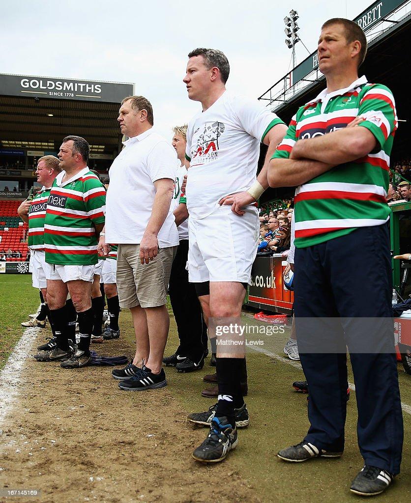 Leicester Tigers Legends Match - Louis Deacon's Tigers v Matt Hampson International Legends