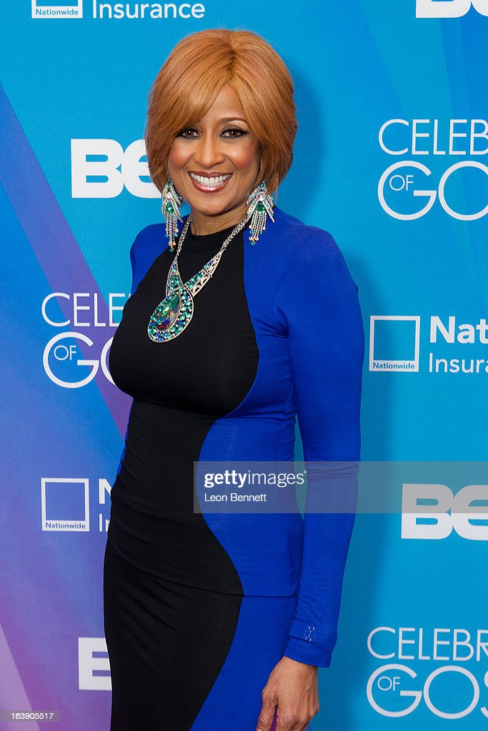 Dorina Clark Cole arrives at the BET Network's 13th Annual 'Celebration of Gospel' at Orpheum Theatre on March 16, 2013 in Los Angeles, California.