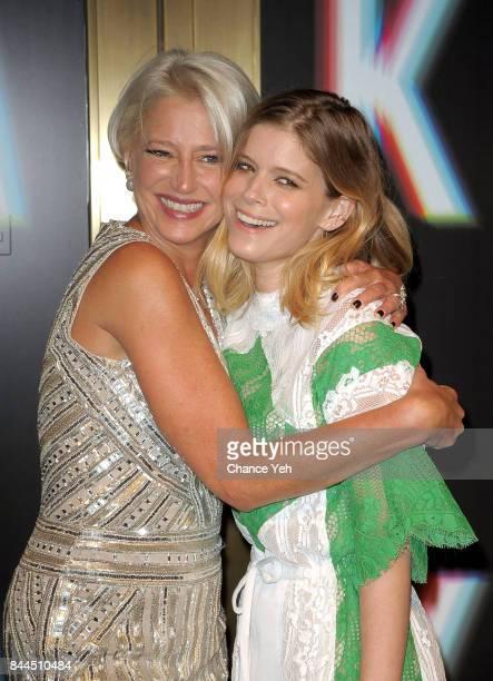 Dorinda Medley and Kate Mara attend Saks Fifth Avenue celebrates New York Fashion Week at Saks Fifth Avenue on September 8 2017 in New York City