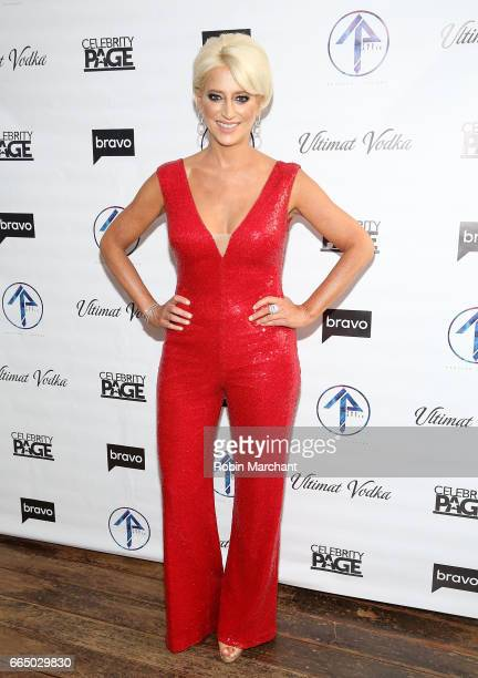 Dorinda Medley attends 'The Real Housewives Of New York City' Season 9 Premiere Party at The Attic Rooftop Lounge on April 5 2017 in New York City