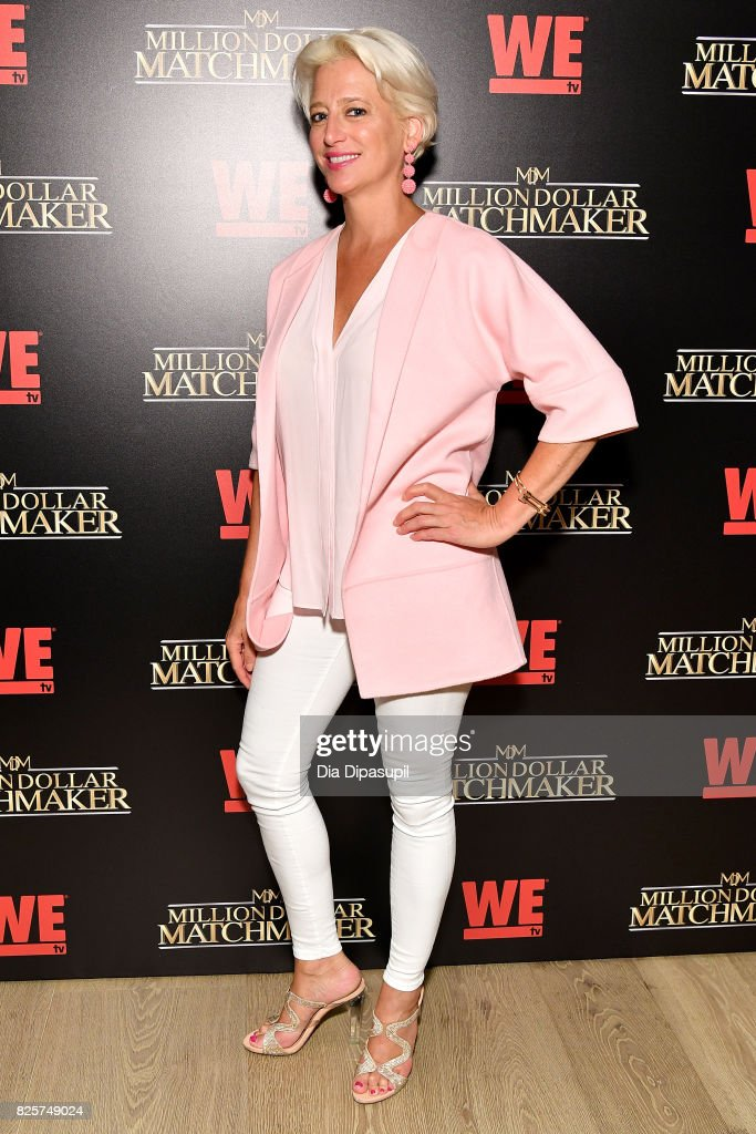 Dorinda Medley attends WE tv's Exclusive Premiere of Million Dollar Matchmaker Season 2 at the Whitby Hotel on August 2, 2017 in New York City.