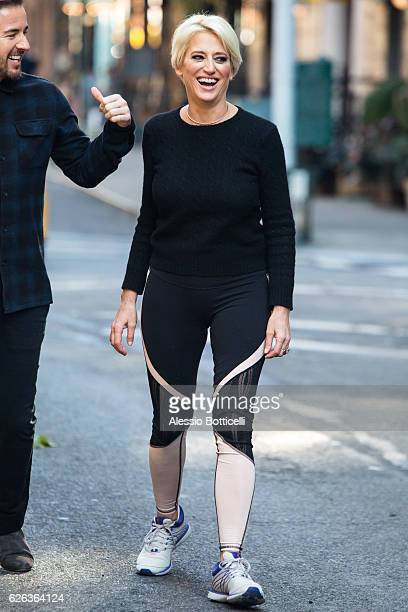 Dorinda Medley of 'The Real Housewives Of New York City' is seen during a promotional photoshoot in SoHo on November 28 2016 in New York City