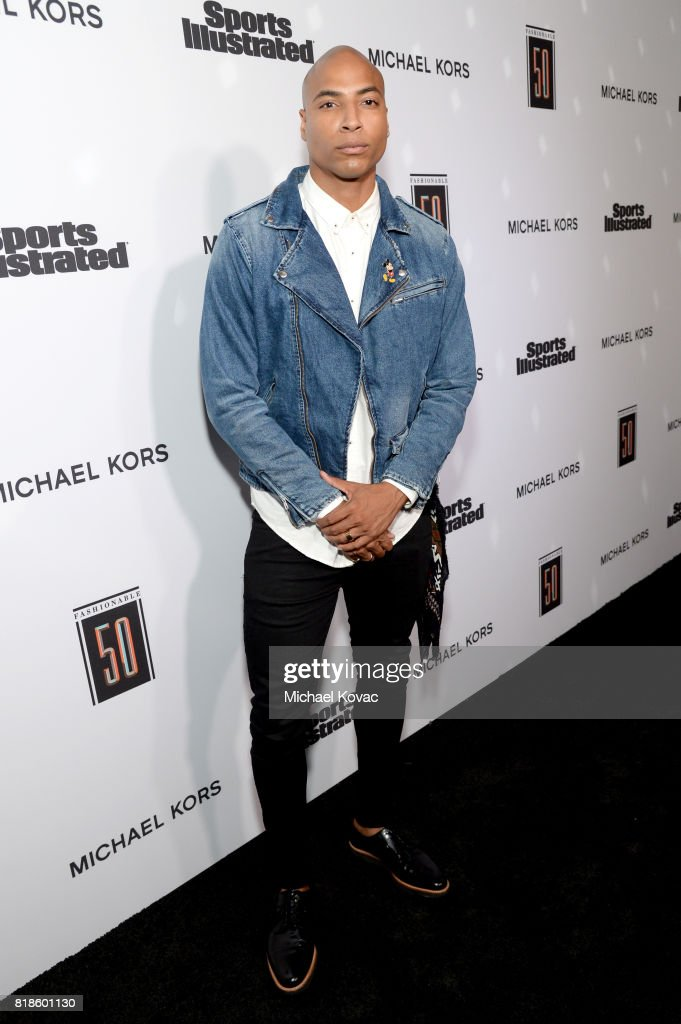 Dorion Renaud at Sports Illustrated 2017 Fashionable 50 Celebration at Avenue on July 18, 2017 in Los Angeles, California.