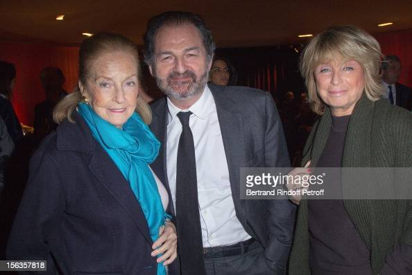 Doris Brynner Denis Olivennes and Daniele Thompson attend 'Populaire' Screening Hosted By Europe 1 on November 13 2012 in Paris France