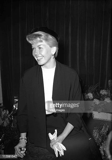 Doris Day posed 1956