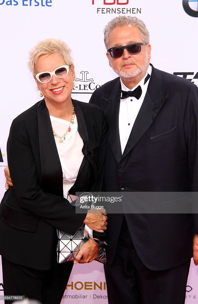 Doris Doerrie and Doris Doerrie; Martin Moskowicz attend the Lola - German Film Award (Deutscher Filmpreis) on May 27, 2016 in Berlin, Germany.