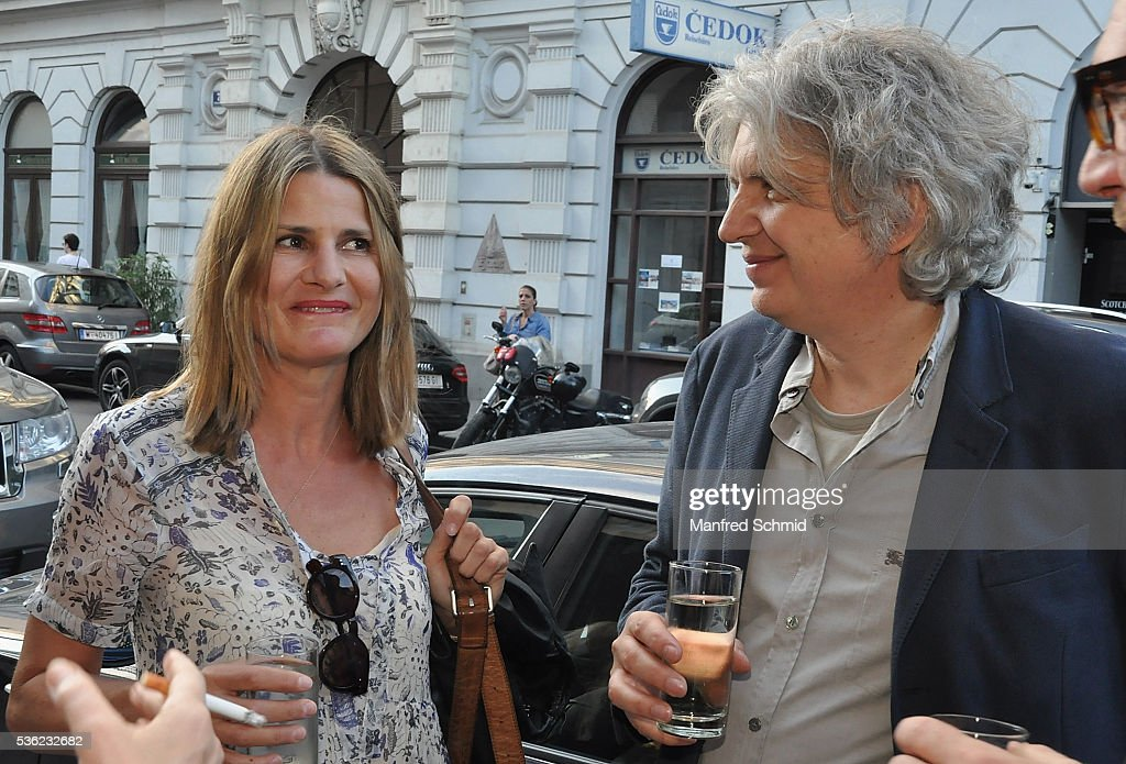 Doris Hindinger (L) and Wolfgang Murnberger attend the 'Vor der Morgenroete' Vienna Premiere at Gartenbau Kino Vienna on May 31, 2016 in Vienna, Austria.