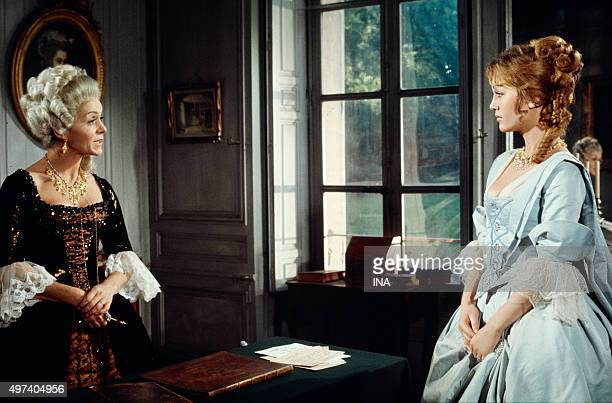 Doris Kunstamnn in the role of Andrée de Taverney in the fiction 'Joseph Balsamo'