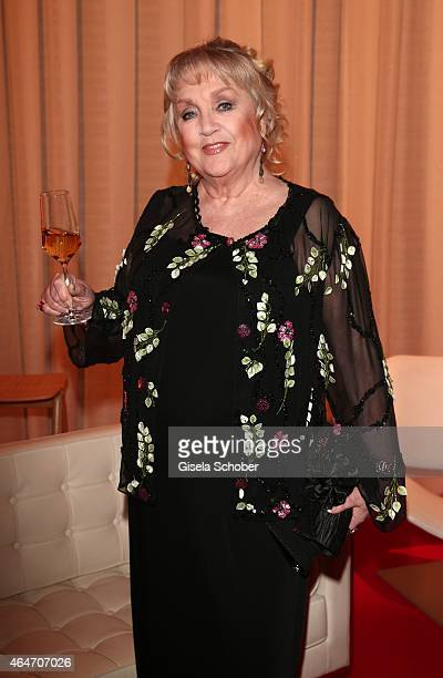 Doris Kunstmann during the Goldene Kamera 2015 reception on February 27 2015 in Hamburg Germany