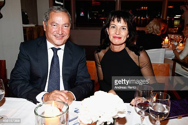Doris Leuthard and Guest attend the Women of Impact Reception during Day 2 of Zurich Film Festival 2014 on September 26 2014 in Zurich Switzerland