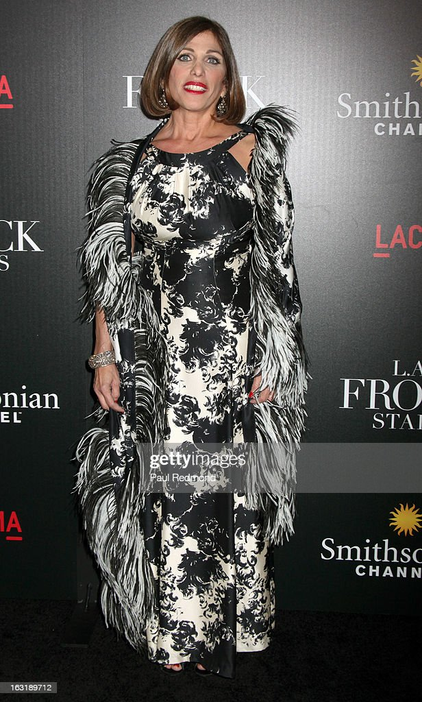 Doris Raymond arrives at 'L.A.Frock Stars' - Los Angeles Screening at LACMA on March 5, 2013 in Los Angeles, California.