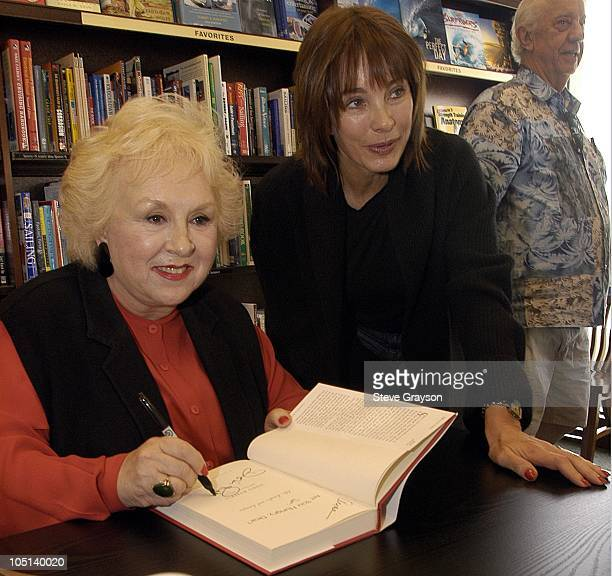 Doris Roberts and Anne Archer during Doris Roberts Booksigning of 'Are You Hungry Dear Life Laughs and Lasagna' at Barnes and Noble at The Grove in...
