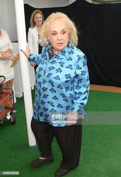 Doris Roberts attends Love Boat Cast Christening Of Regal Princess Cruise Ship at Port Everglades on November 5 2014 in Fort Lauderdale Florida
