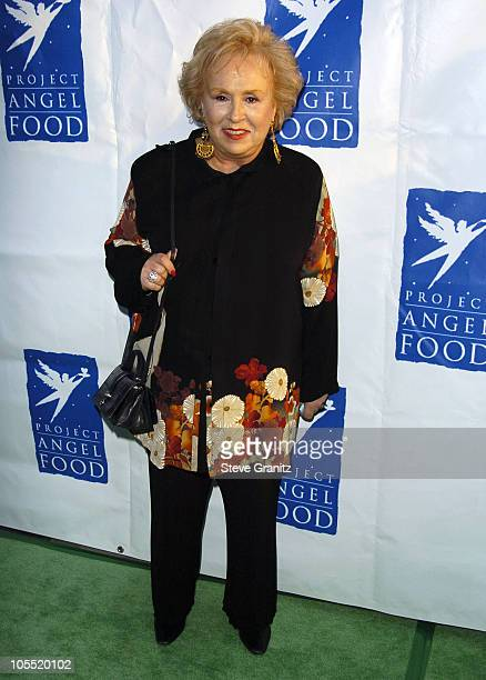 Doris Roberts during 11th Annual Angel Awards Arrivals at Project Angel Food in Los Angeles California United States