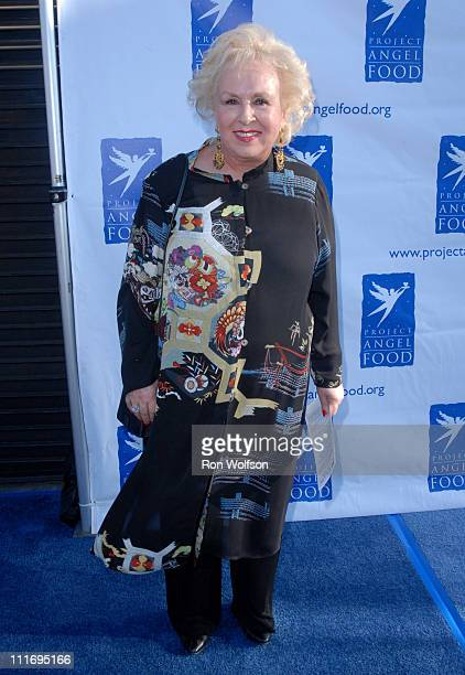 Doris Roberts during 13th Annual Angel Awards Honoring Nathan Lane and Disney VoluntEARS at Project Angel Food in Hollywood California United States