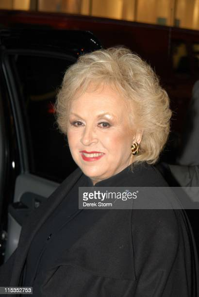 Doris Roberts during Doris Roberts and The Presidents of the United States of America Leave 'Last Call with Carson Daly' November 3 2004 at NBC...